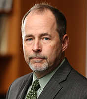 Photo of Kevin Reed, vice president and general counsel